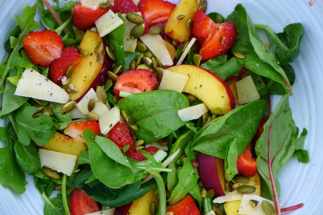 Sweet summery salad