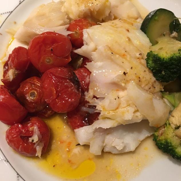 Torsk med magisk tomatsaus
