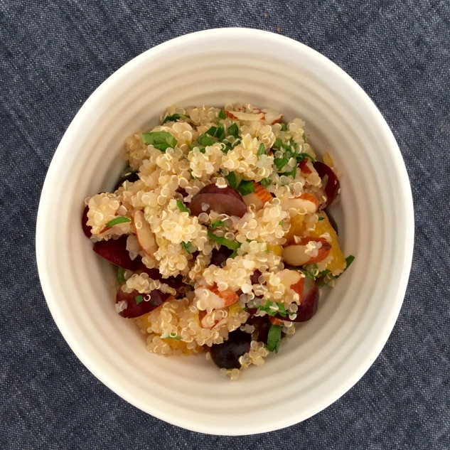 Fruity, nutty Quinoa