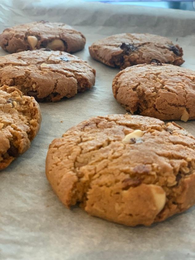 cookies med sjokolade